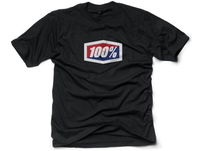 100% Official T-shirt Herrer, black